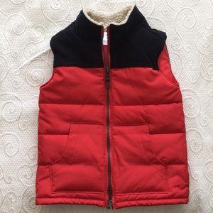 Carter's Toddler's Vest Red/Black 5T